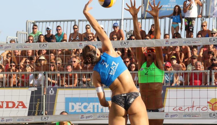 Beach Volley 2018 – gare 3a giornata – femm 1